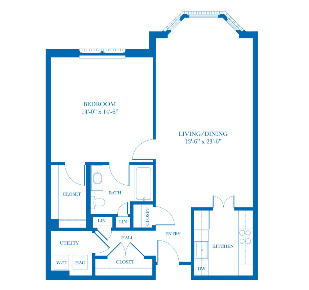 Well-Spring Community Camellia Apartment Floor Plan