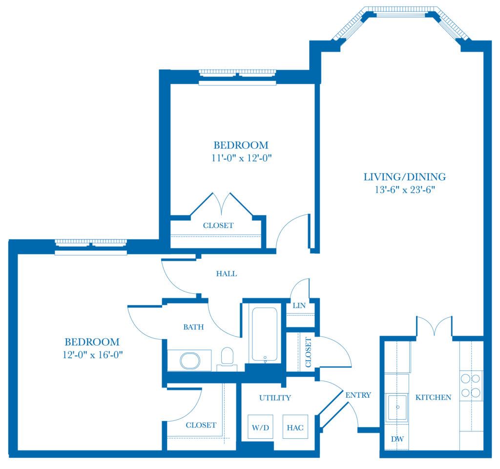 Well-Spring Community Dogwood Apartment Floor Plan