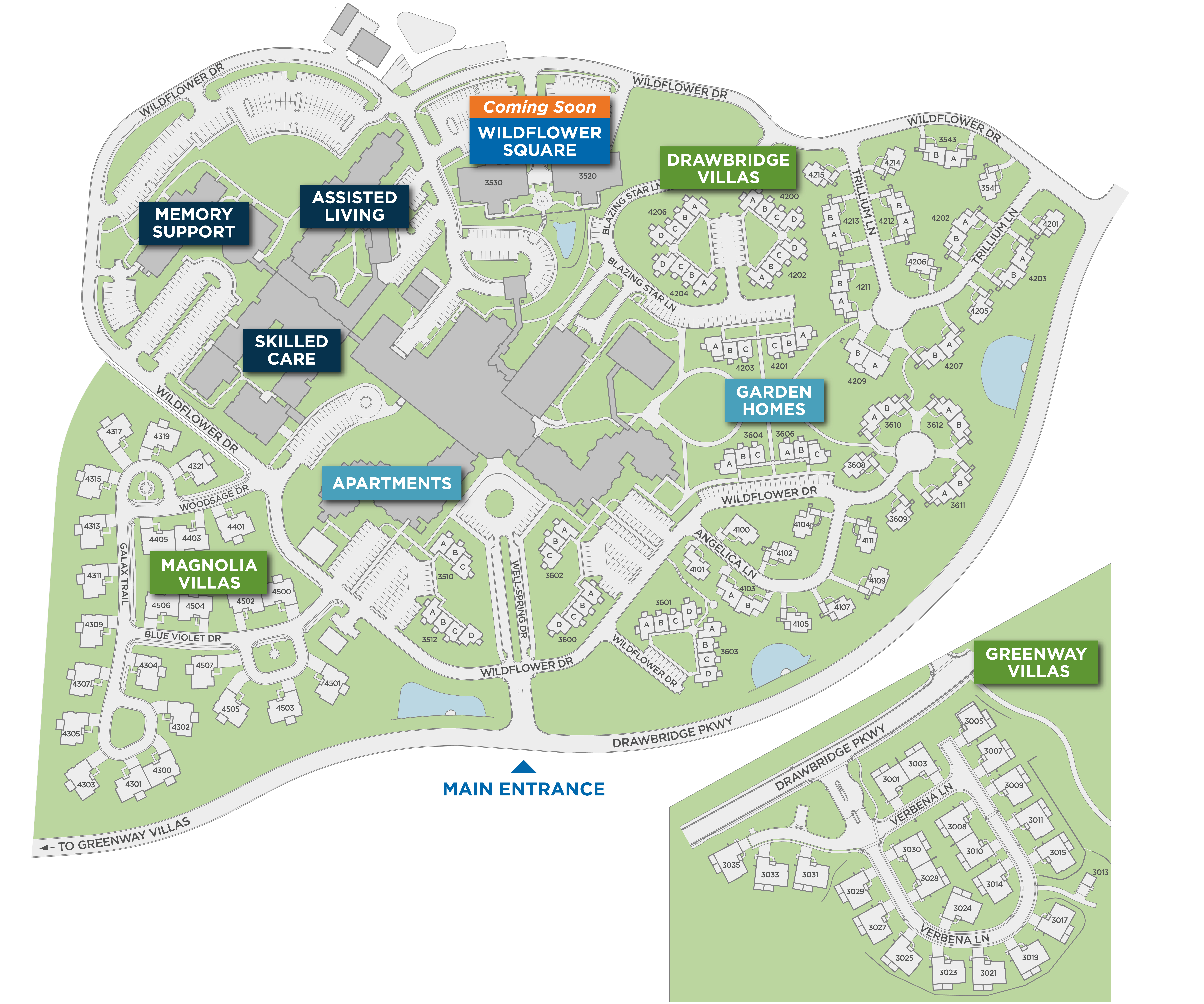 Well-Spring Community Campus Map image